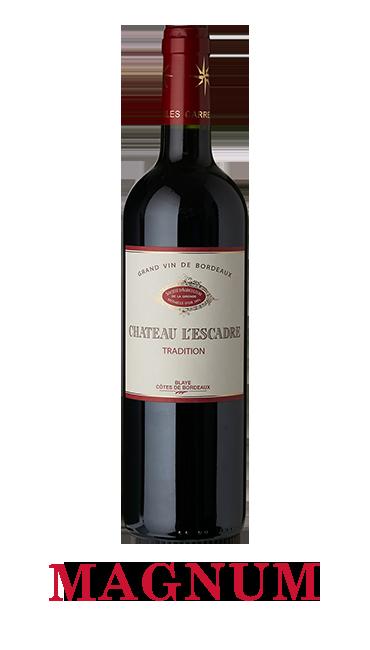 Magnum Château L'Escadre 2018 - AOC Blaye Côtes de Bordeaux