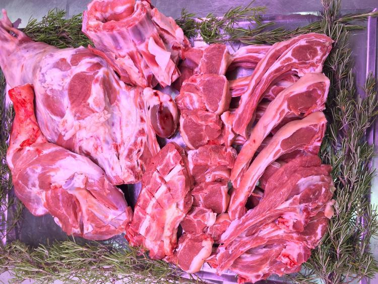 Colis d'agneau