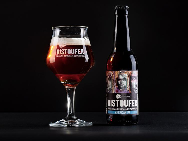 Bière Blonde AMERICAN IPA 6% Alc
