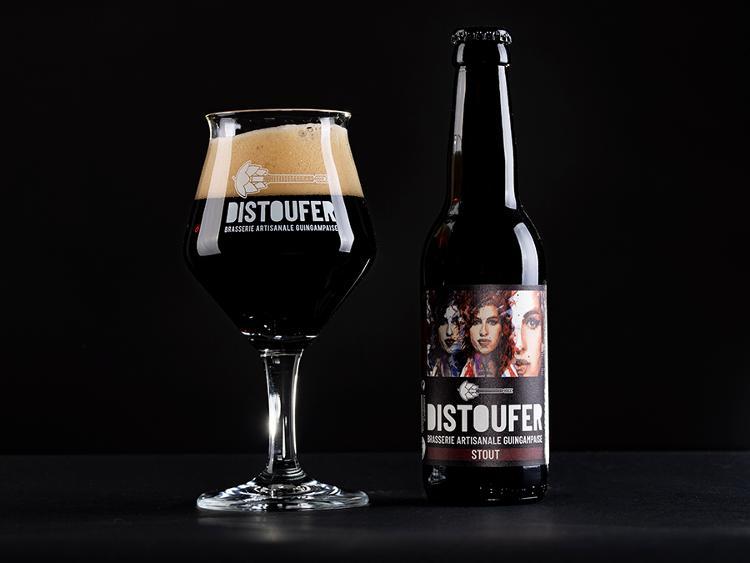 Bière Brune STOUT 6.5% Alc