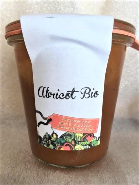 NOUVEAU : Abricot (Préparation fermière à base de fruits et à faible teneur en sucre)
