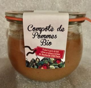 NOUVEAU : Compote de Pommes sans sucre ajouté