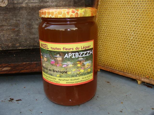 Miel de la vallée du Léguer (1kg)