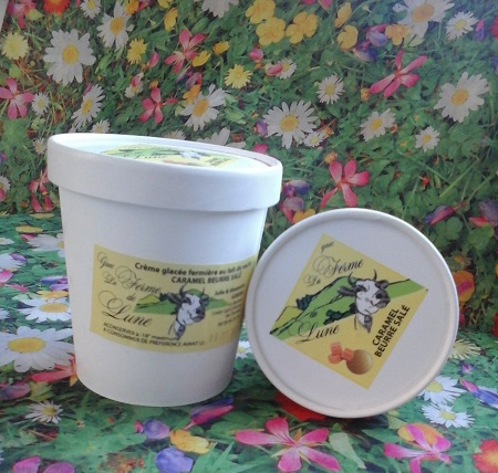 Crème glacée fermière CARAMEL beurre salé 480ml