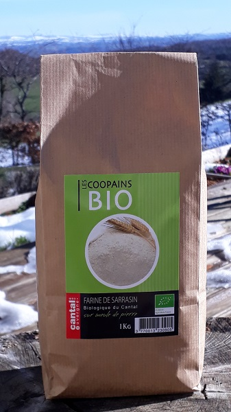 Farine de sarrasin BIO (1kg)