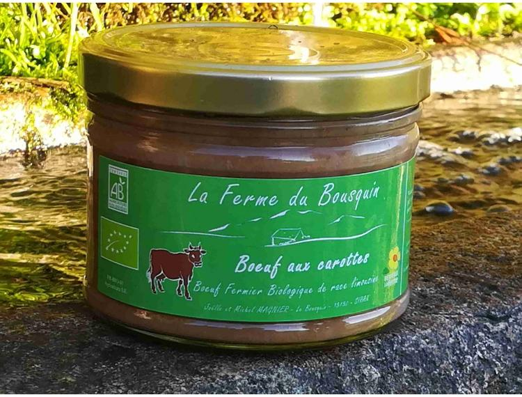 Boeuf carottes bio - Michel Magnier