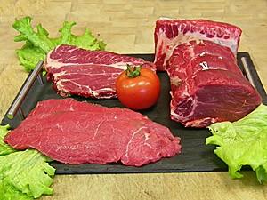 Colis dégustation 3kg - viande de boeuf BIO - Ferme du Bousquin