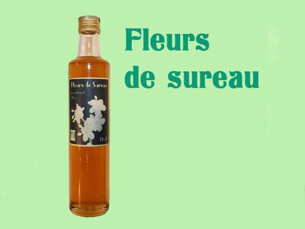 Sirop de Fleurs de Sureau - 50 cl