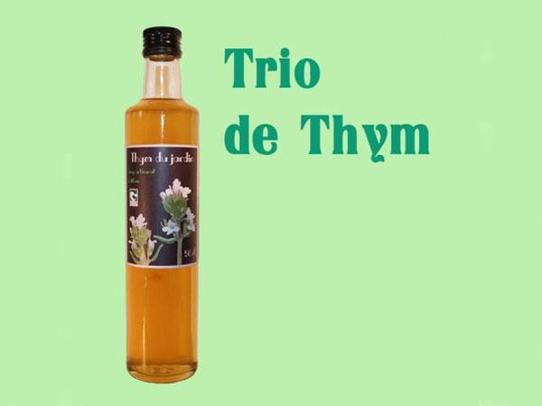 Sirop Trio de Thym - 50 cl