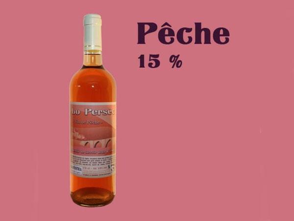 Vin de Pêche - Alcool 15% - 75 cl