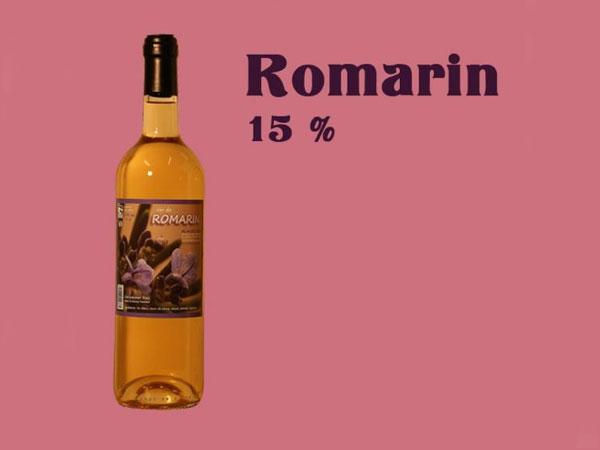 Vin de Romarin - Alcool 15% - 75 cl