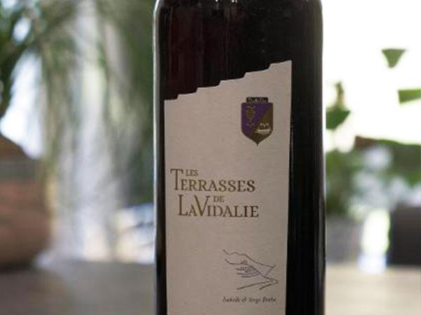 ROUGE  Tradition (75 cl) Les Terrasses de LaVidalie
