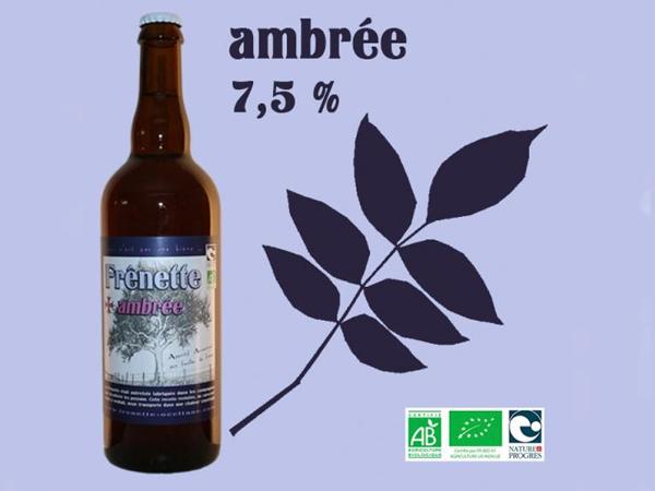 Frênette Ambrée - Alcool 7,5 % - 75 cl
