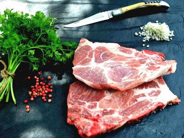 Côtes de porc échine 1Kg RISPAL