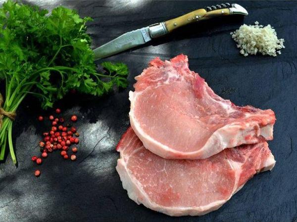 Côtes de porc filet 1kg (4 à 6 côtes) RISPAL