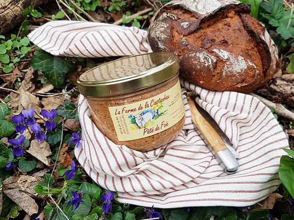 Pâté de foie conserve 350g PLANTECOSTE