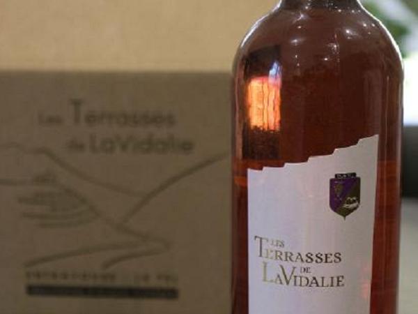 ROSE Les Terrasses de LaVidalie (Carton de 6 bouteilles) - AOP Entraygues-Le Fel