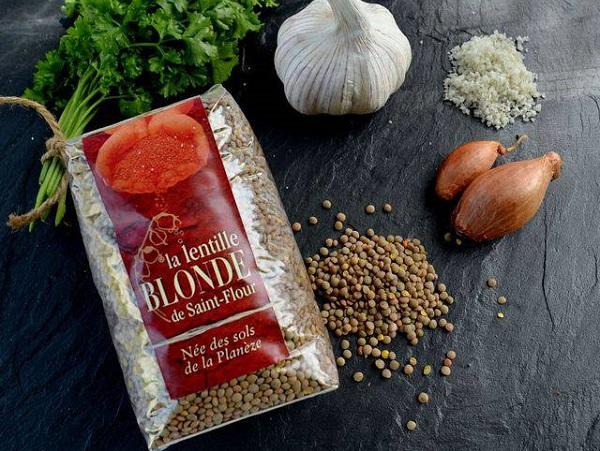 Lentille blonde de Saint-Flour RISPAL 500g