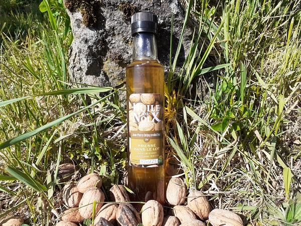 Huile de noix vierge 25 cl
