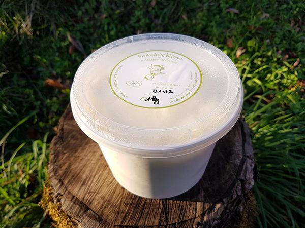 Fromage blanc (1kg) - Ferme du Bos