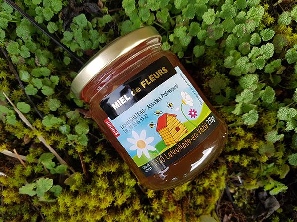 Miel de fleurs 250 g