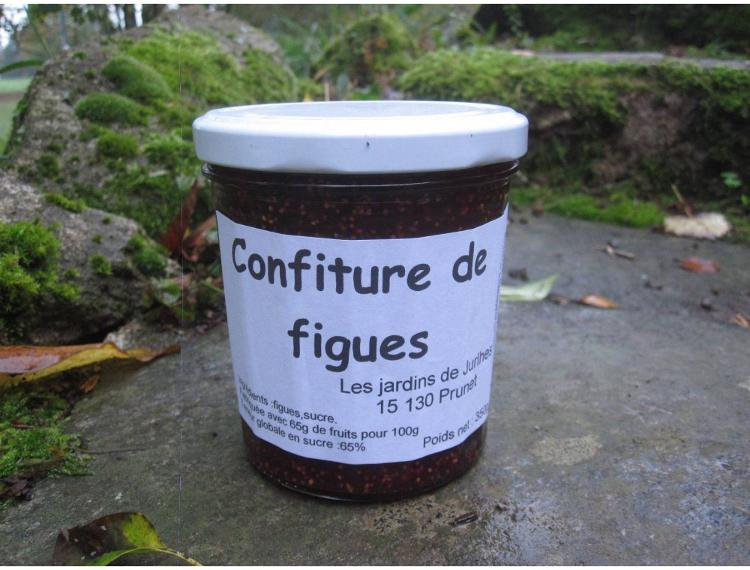 Confiture de figues ( pot de 250g)