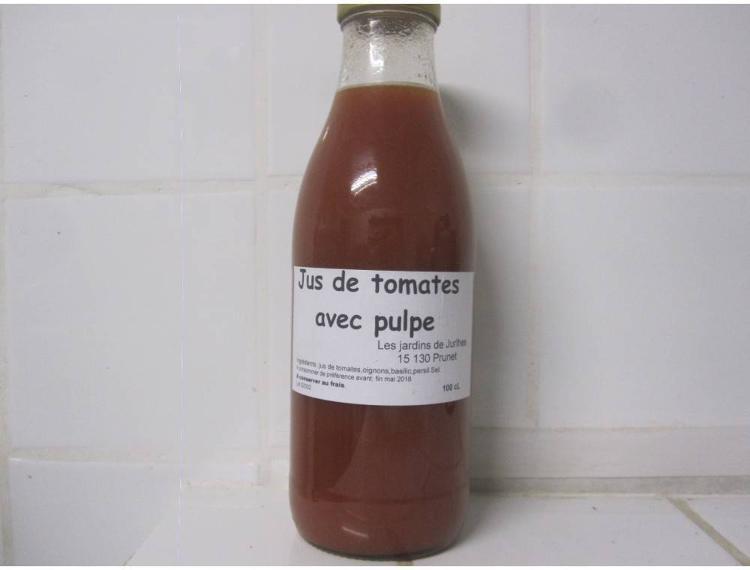 Jus de tomates (pour potage)