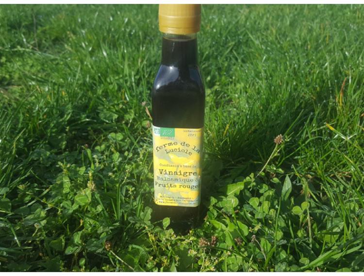 Vinaigre balsamique & fruits rouges 25cl