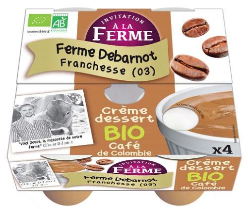 Crème dessert café 4x100g