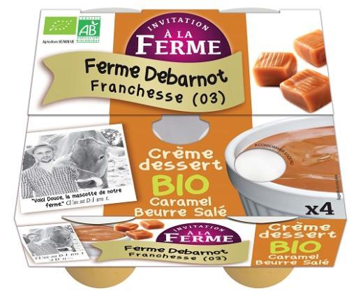 Crème dessert T CARAMEL Beurre Salée  -4*100gr