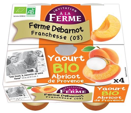 Yaourt à l'Abricot de Provence 4x125g