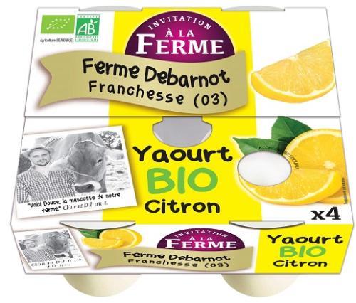 Yaourt au Citron 4x125g