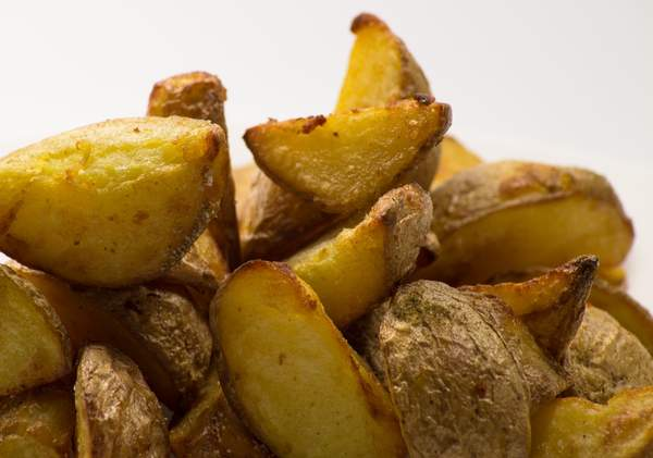 Pommes de terre grenaille cuites au four