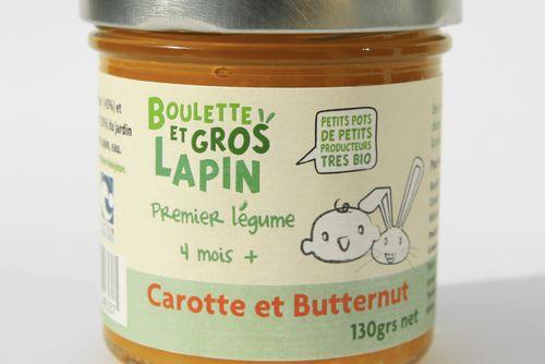 Carotte butternut - dès 4 mois