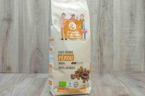 Café grain du Pérou - 1kg