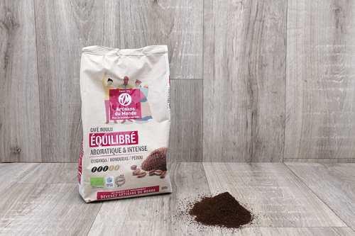 "Café moulu ""Equiilibré"" Pérou Honduras - 500g"