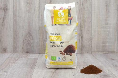 Café moulu du Pérou - 1kg