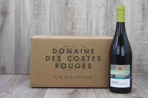 Vin Rouge 2019 cuvée Tandem - Carton 6 bouteilles