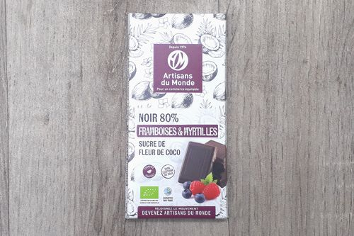 CHOCOLAT - Noir framboises myrtilles
