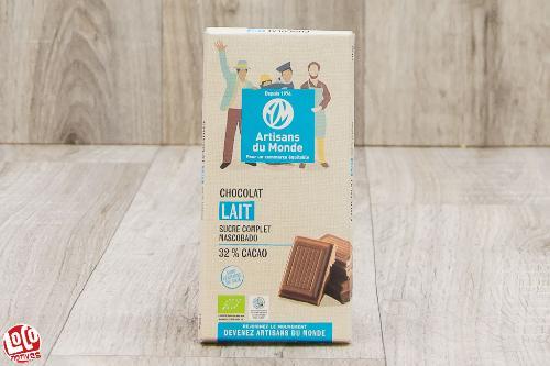 Chocolat au lait (32% cacao )