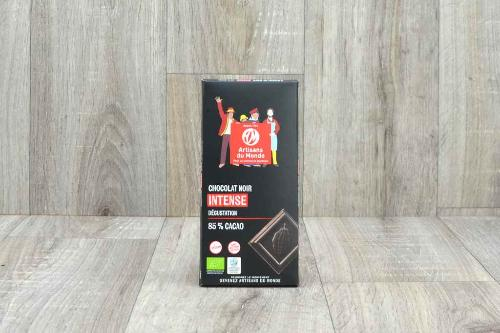 Chocolat noir intense (85% cacao)