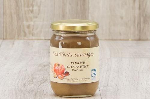 Confiture de pomme-châtaigne - 300g