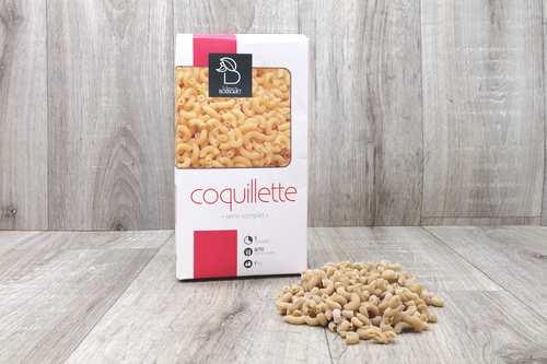 Pâtes Coquillette nature - 1kg