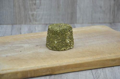 Crottin frais au poivre vert