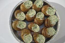 Escargots en coquille à la bourguignonne Frais (1dz)