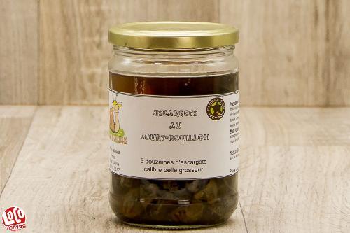Escargots au court-bouillon 5dz