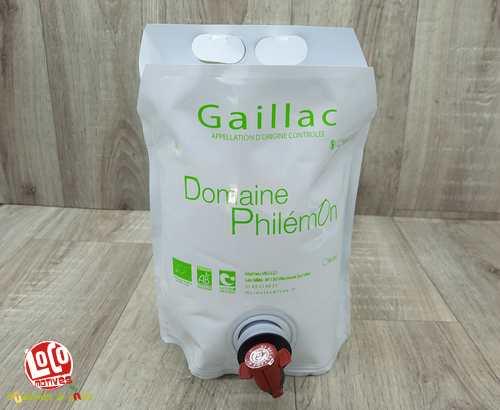 Vin Blanc 'Gaillac' - BIB 3L