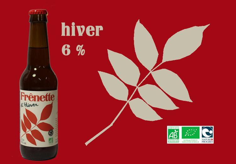 Frênette d'Hiver - Alcool 6 % - 33 cl