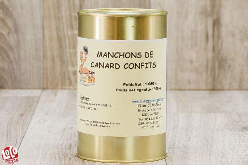 4/6 Manchons de canard confits