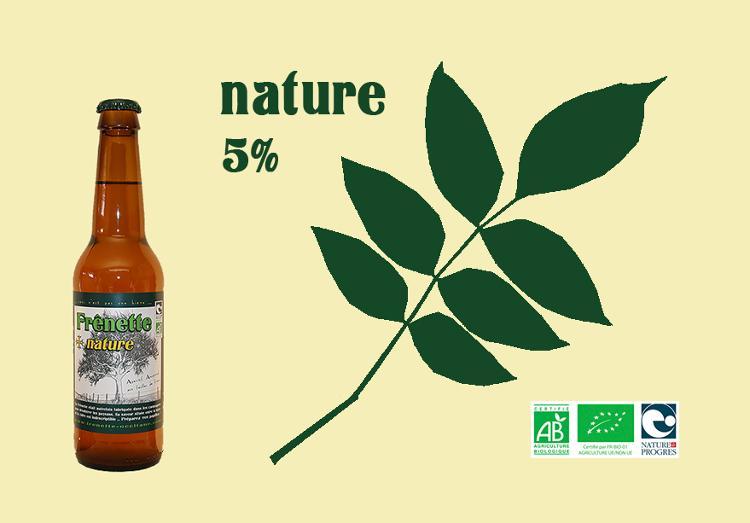 Frênette Nature - Alcool 5 % - 33 cl